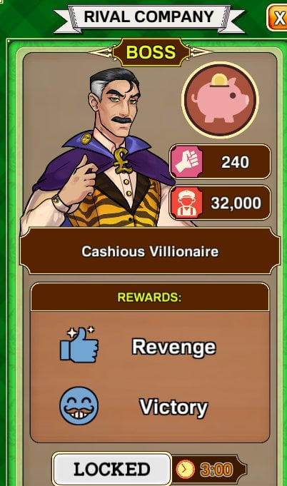 Max Gentlemen Sexy Business! - How to Beat Cashious Villionaire (Boss)