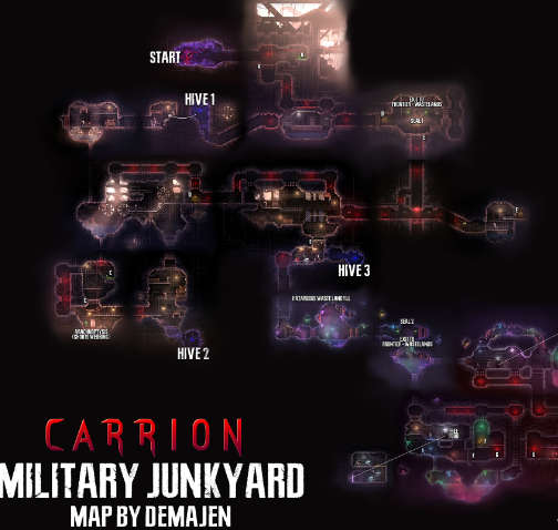 Carrion All Areas On Map Gamesgds